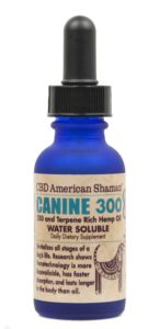 Bottle of Canine 300 Water Soluble