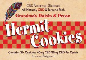 Box of American Shaman Hermit Cookies