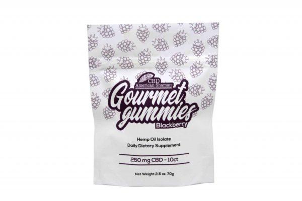 Bag of American Shaman Gourmet Gummies