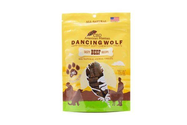 Bag of Dancing Wolf CBD Dog Treats